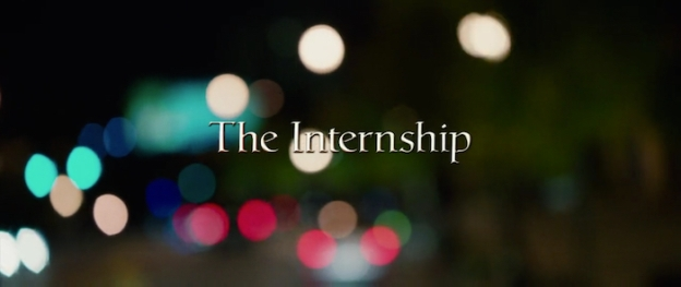 The Internship title screen