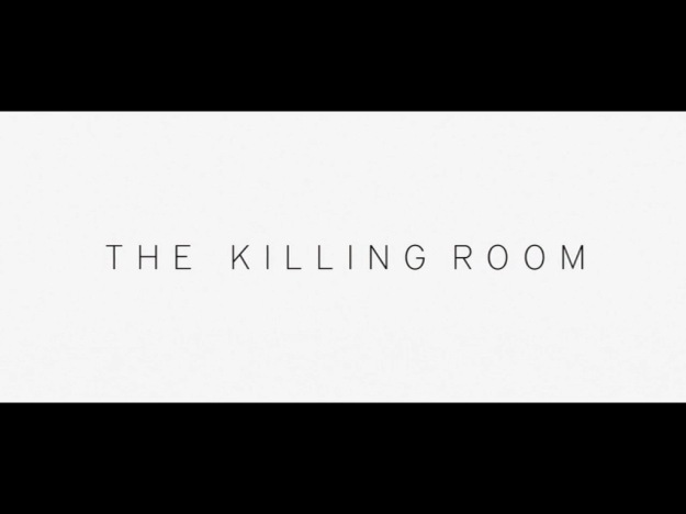 The Killing Room title screen