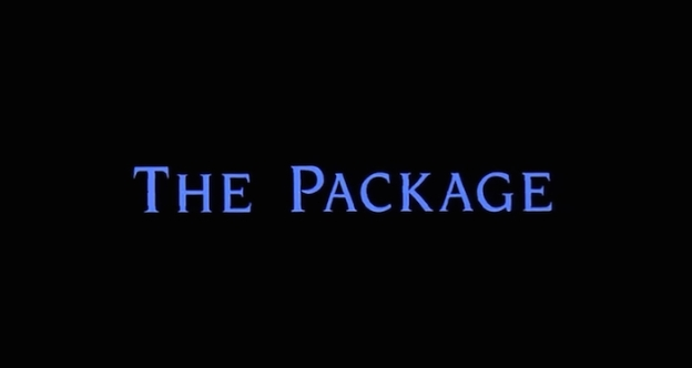 The Package title screen
