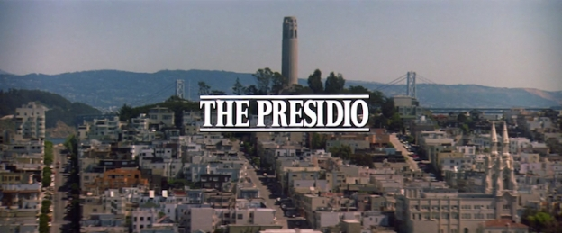 The Presidio title screen