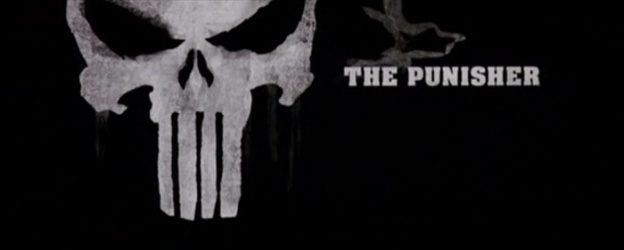 The Punisher (2004) title screen