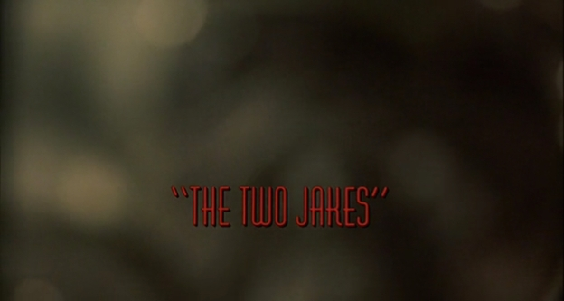 The Two Jakes title screen