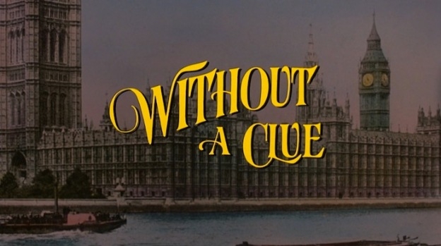 Without A Clue title screen
