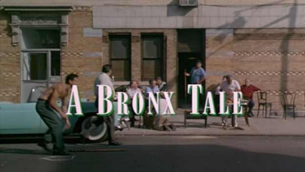A Bronx Tale title screen