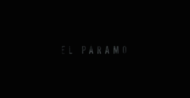El Páramo title screen