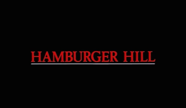 Hamburger Hill title screen