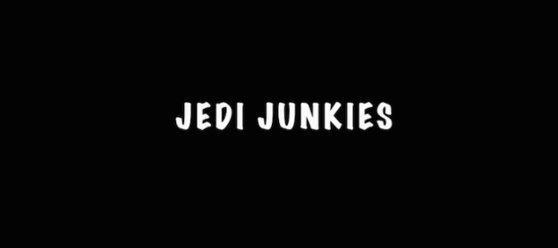 Jedi Junkies title screen