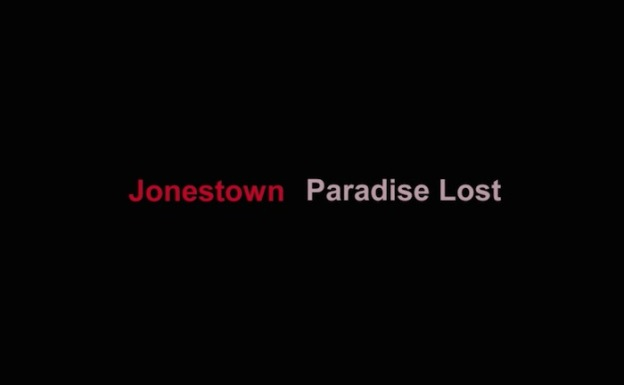 Jonestown: Paradise Lost title screen