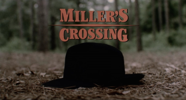 Miller's Crossing title screen