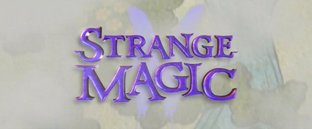 Strange Magic title screen