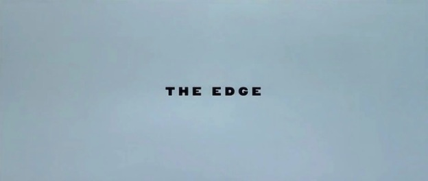 The Edge title screen