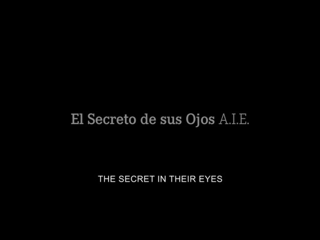 El Secreto De Sus Ojos title screen