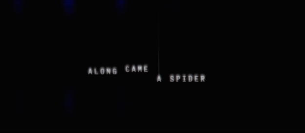 Along Came A Spider title screen