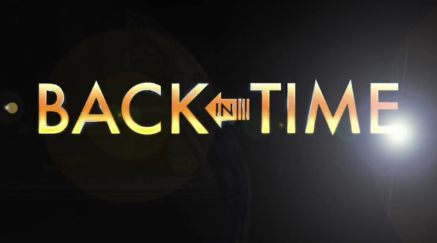 Back In Time title screen