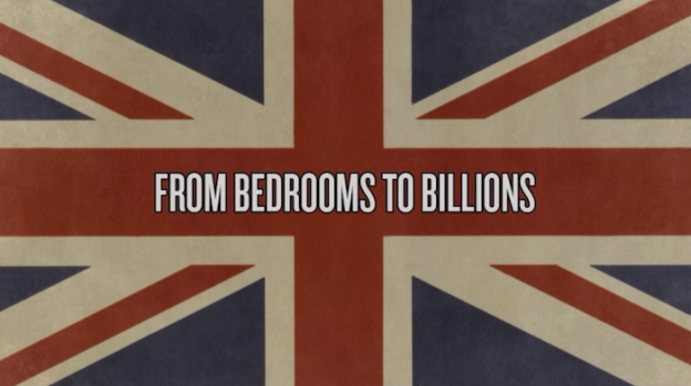 From Bedrooms To Billions title screen
