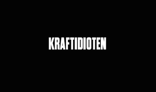 Kraftidioten title screen