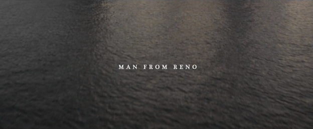 Man From Reno title screen