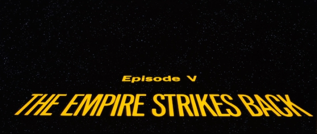 Star Wars Episode V: The Empire Strikes Back title screen