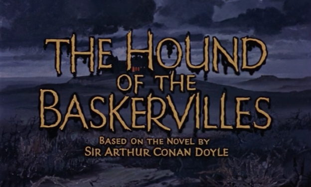 The Hound Of The Baskervilles title screen
