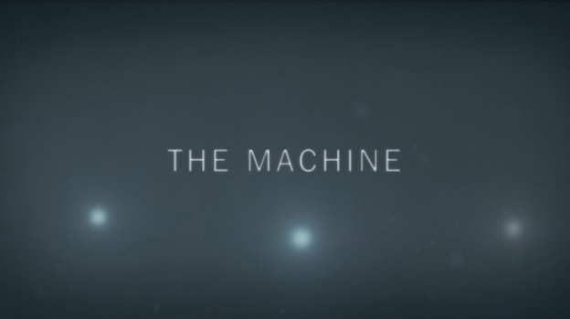 The Machine title screen