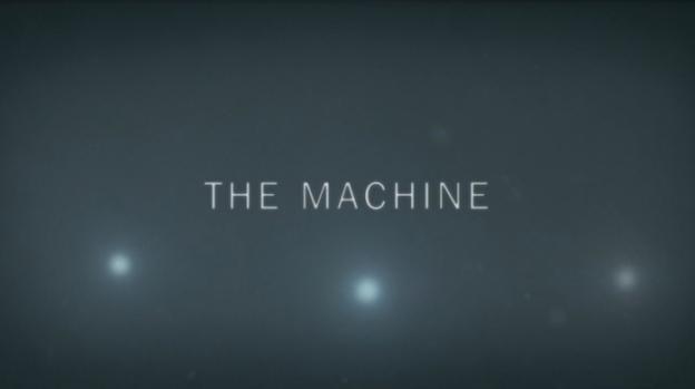 The Machine title screen