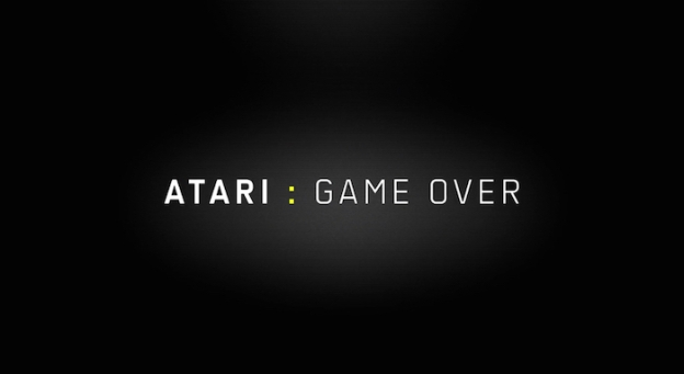 Atari: Game Over title screen