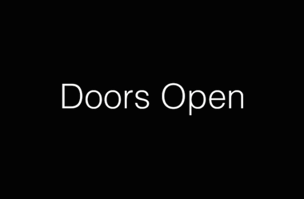 Doors Open title screen