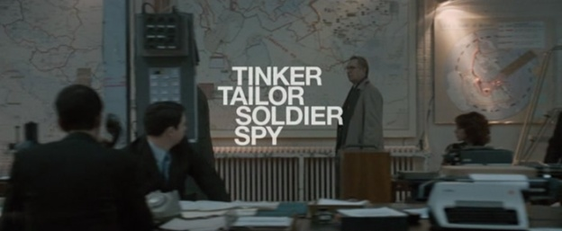 Tinker, Tailor, Soldier, Spy title screen