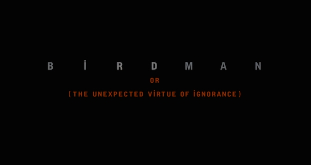 Birdman title screen