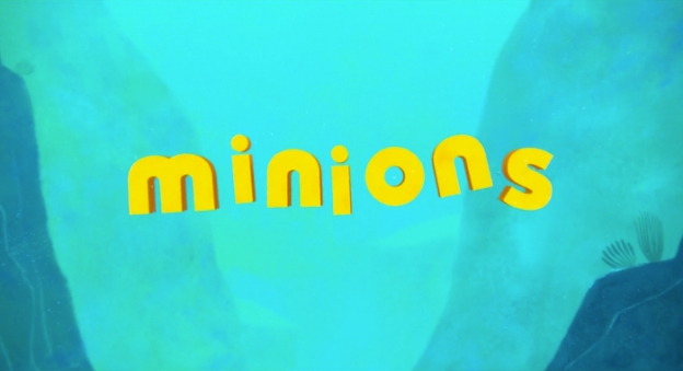 Minions title screen