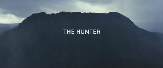 The Hunter (2011) title screen