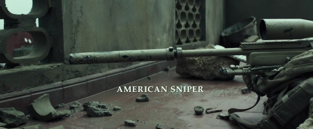 American Sniper title screen