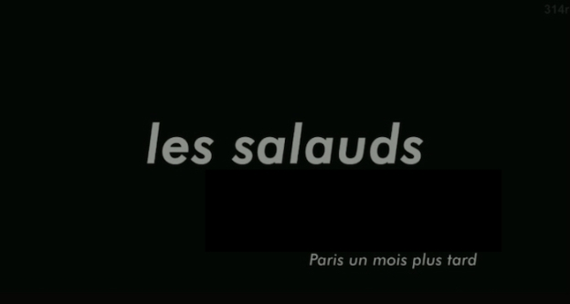 Les Salauds title screen