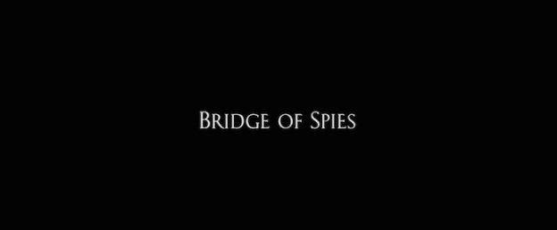 Bridge Of Spies title screen