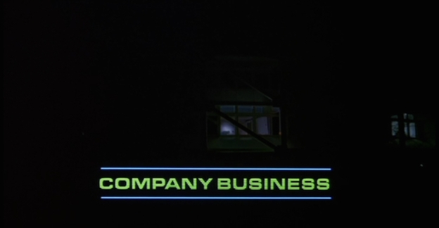 Company Business title screen
