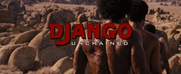 Django Unchained title screen
