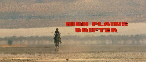 High Plains Drifter title screen
