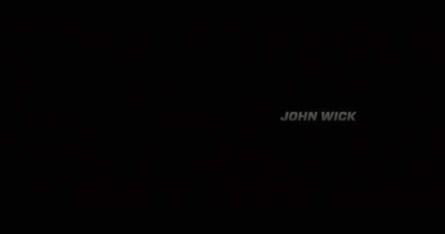 John Wick title screen