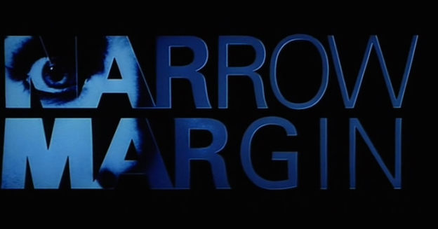 Narrow Margin (1990) title screen