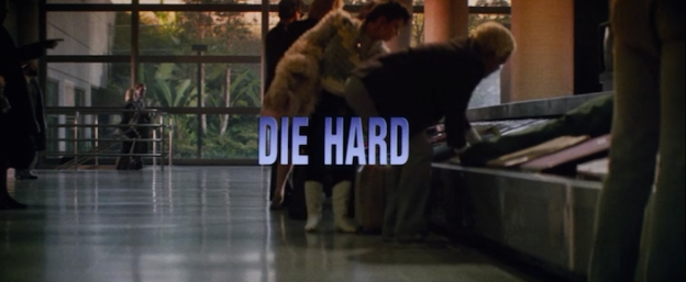 Die Hard title screen