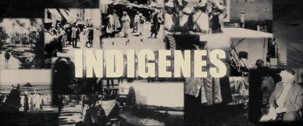 Indigènes title screen