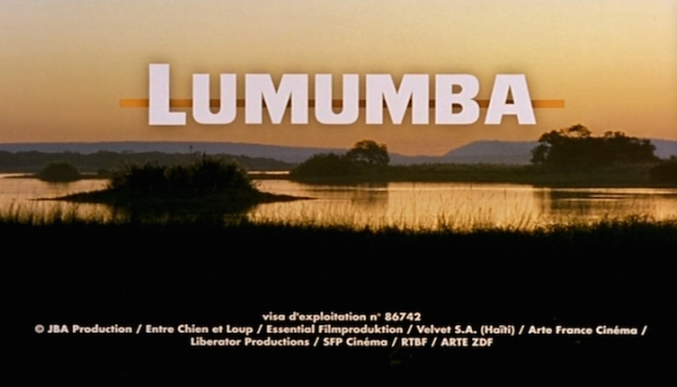 Lumumba title screen
