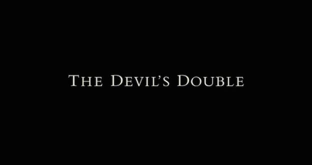 The Devil's Double title screen
