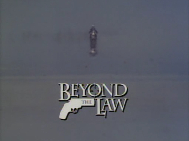 Beyond The Law title screen