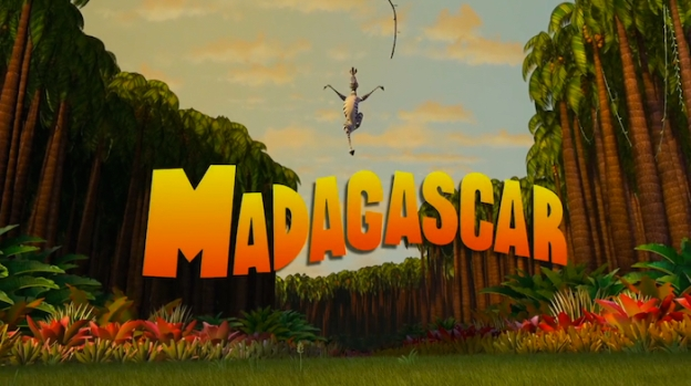 Madagascar title screen
