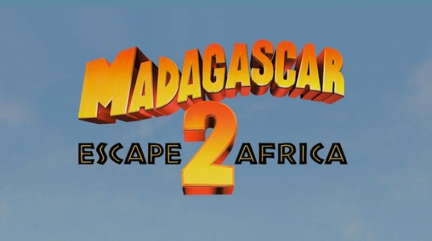 Madagascar: Escape 2 Africa title screen