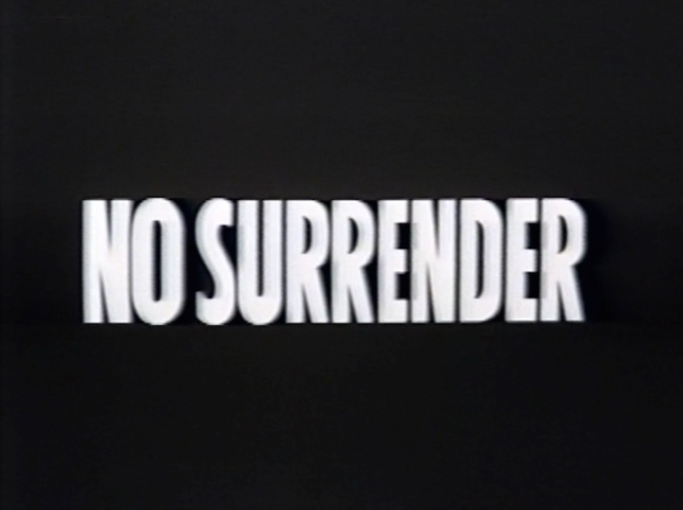 No Surrender title screen