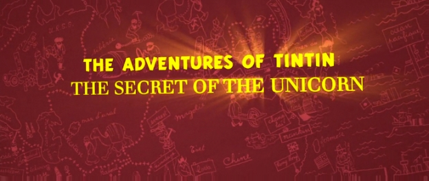 The Adventures of Tintin: The Secret of the Unicorn title screen