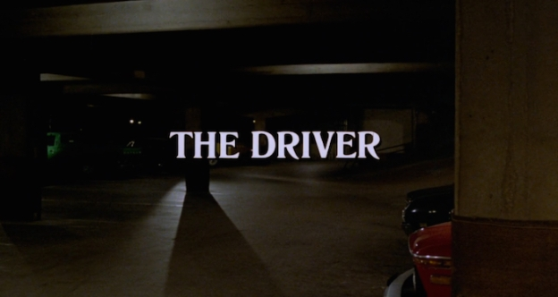 The Driver title screen