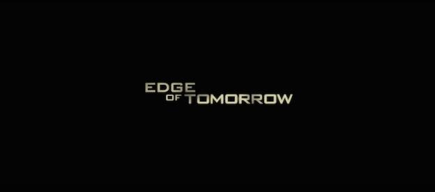 Edge Of Tomorrow title screen
